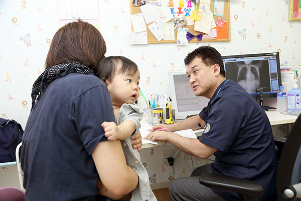 専門性の高い診療ができる体制を整えています